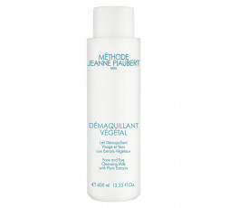 DÉMAQUILLANT VÉGÉTAL Face and Eye Cleansing Milk with Plant Extracts