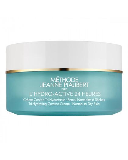 L'HYDRO-ACTIVE 24H Crème Confort Tri-Hydratante Peaux normales à sèches